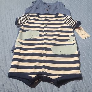 Child of mine baby boy 2 piece outfit